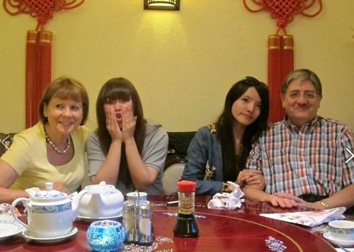 Chinesisches Mal - zum ersten Mal in drei Wochen!