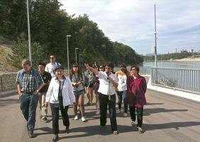 Führung durch das Flusskraftwerk Rheinfelden